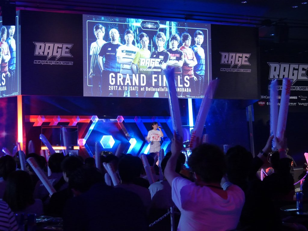 賞金1200万円「RAGE」レポ! 日本e-Sportsの最前線に無名の王者誕生
