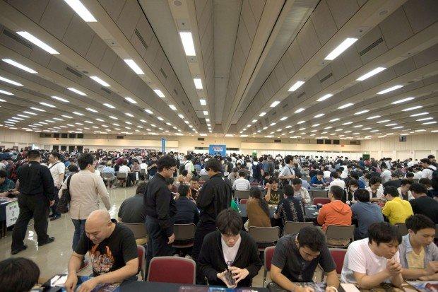 GP神戸の会場風景