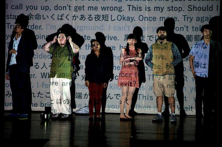 範宙遊泳、インドの劇団と共同制作した新作を上演