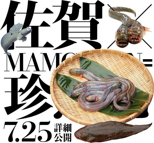 佐賀県にまた異変……グロテスクな珍魚が並ぶティザーサイト公開