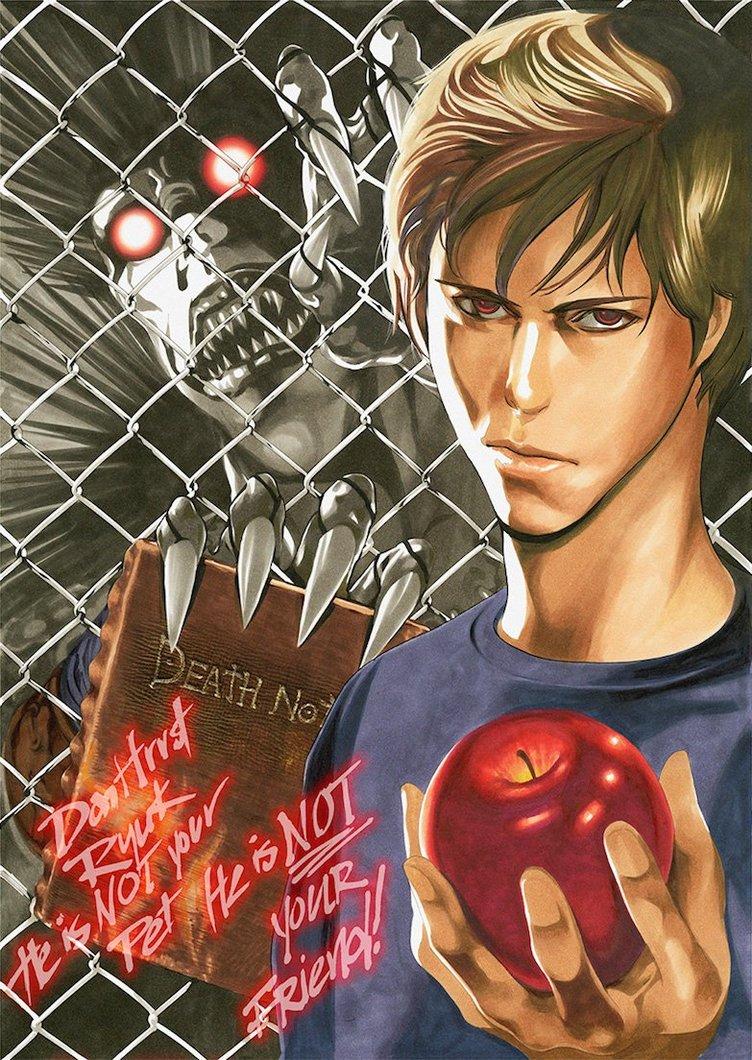 Netflix版『Death Note/デスノート』小畑健のイラストに意味深なメッセージ