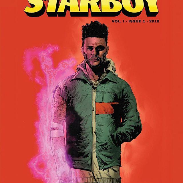The WeekndがMARVELとコラボ アルバム『STARBOY』がアメコミに
