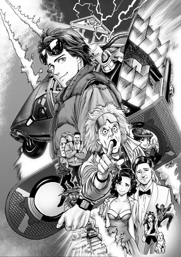 """""""天才""""村田雄介の新作は『バック・トゥ・ザ・フューチャー』の漫画化!"""