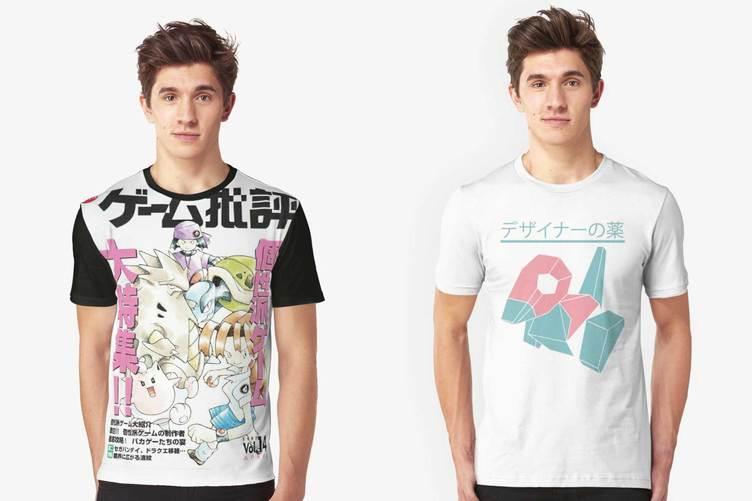 Redbubbleで売られてるポケモンのTシャツデザインがヤバい