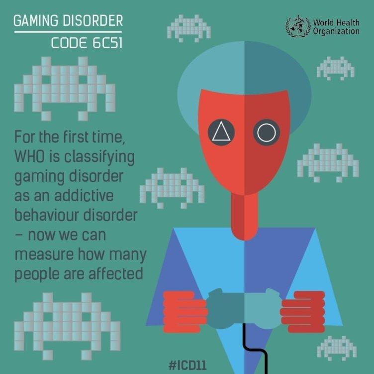 "WHO(世界保健機関)の「""ゲーム障害""は病気」に「フォートナイトやってるから病気」「""仕事障害""も作れ」などの声"