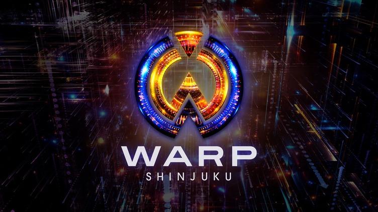 歌舞伎町に超未来型クラブ「WARP SHINJUKU」誕生 最大1500人収容の大箱