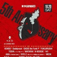東京Gorilla03 5th Anniversary@LOUNGE NEO