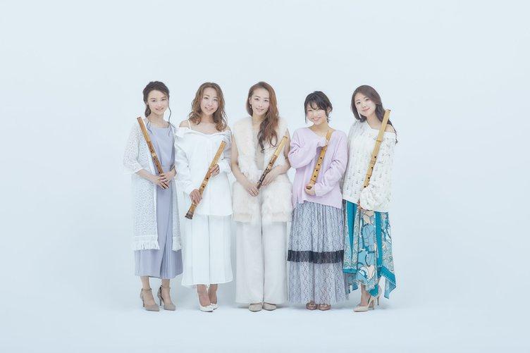 NHKに降臨した「尺八5人娘」にネット騒然 正体→最初は1人娘だった