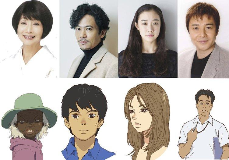 『海獣の子供』に稲垣吾郎&蒼井優 13年ぶりアニメ映画への声優出演