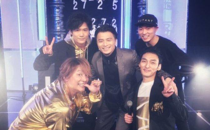 KREVAが稲垣吾郎、草なぎ剛、香取慎吾と一緒に「#SINGING」を熱唱