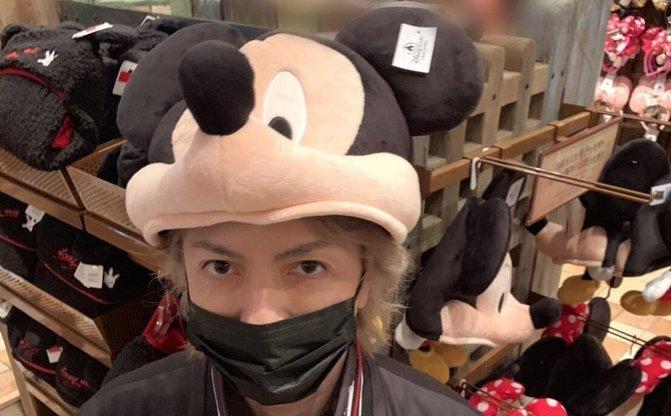 「Where am I ?」 上海ディズニー満喫する「隠れHYDE」が尊い