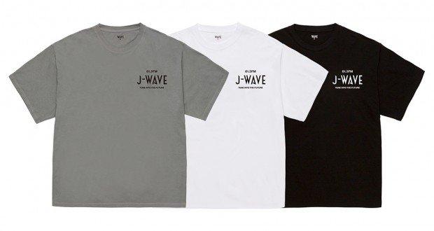 J-WAVEとのコラボレーションTシャツ