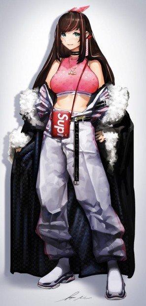 """Kizuna AI. """" Queen """""""