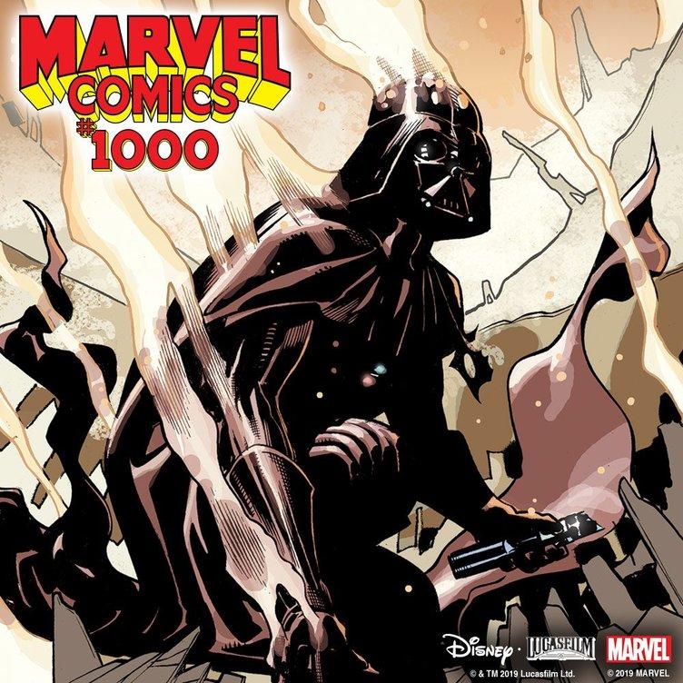 スター・ウォーズがマーベル80周年記念コミックに参加 豪華共演が実現か