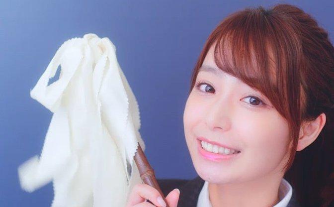 宇垣美里、可愛い過ぎる先生姿がたまらない フリー転身後初のCM出演
