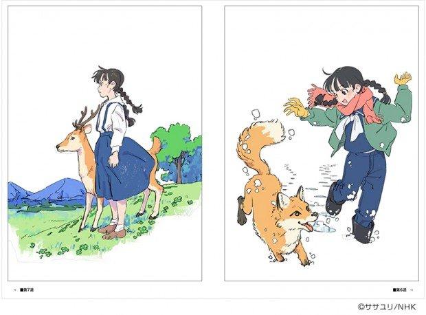 「なつぞら」のアニメーション資料集(1)