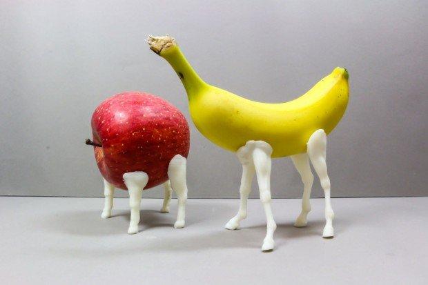 精霊馬_りんご_バナナ
