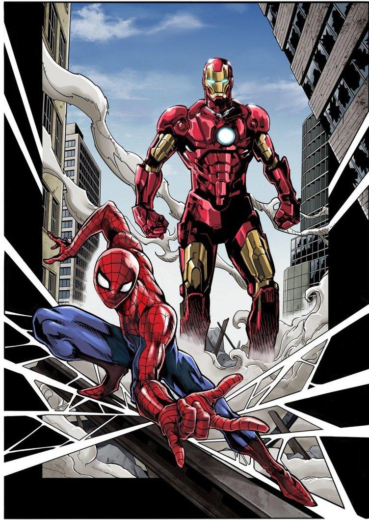 MARVELとジャンプがコラボ 『遊戯王』高橋和希がアイアンマンを描く