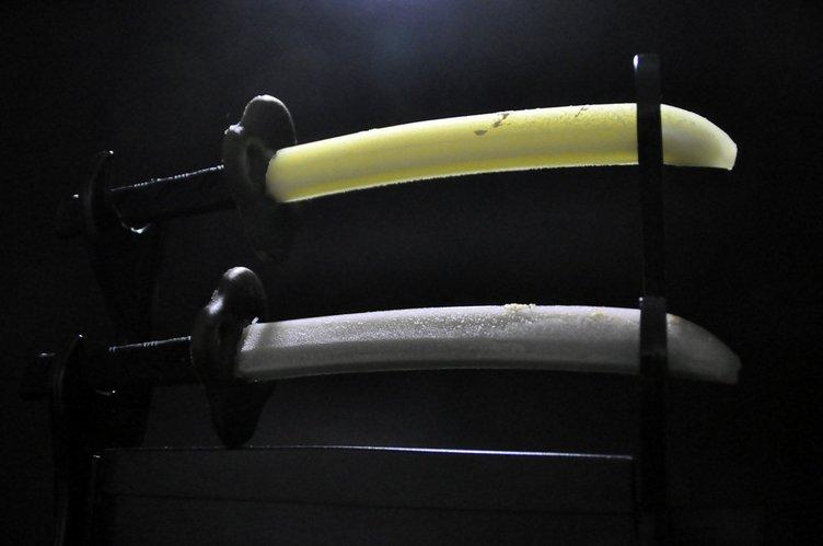 名刀の産地発「日本刀アイス」 新フレーバーは淡麗チョコミン刀