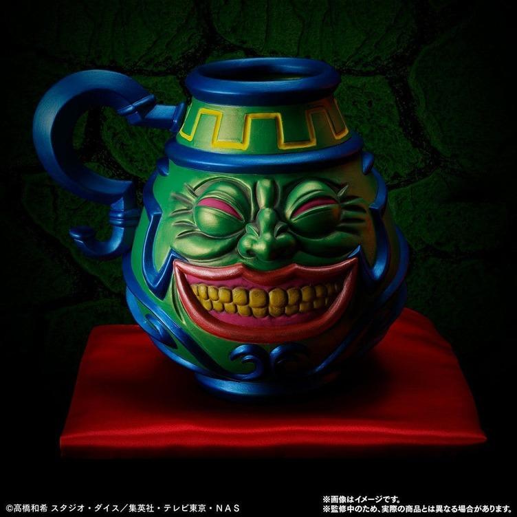 遊戯王「強欲な壺」マジで壺に 美濃の職人がこだわり抜いて立体化
