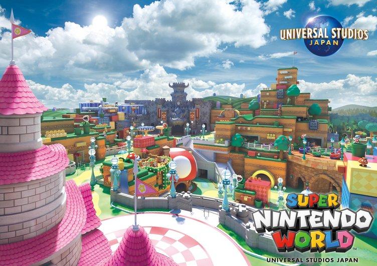 USJ「SUPER NINTENDO WORLD」新ビジュアル公開 経済効果は11兆円を見込む