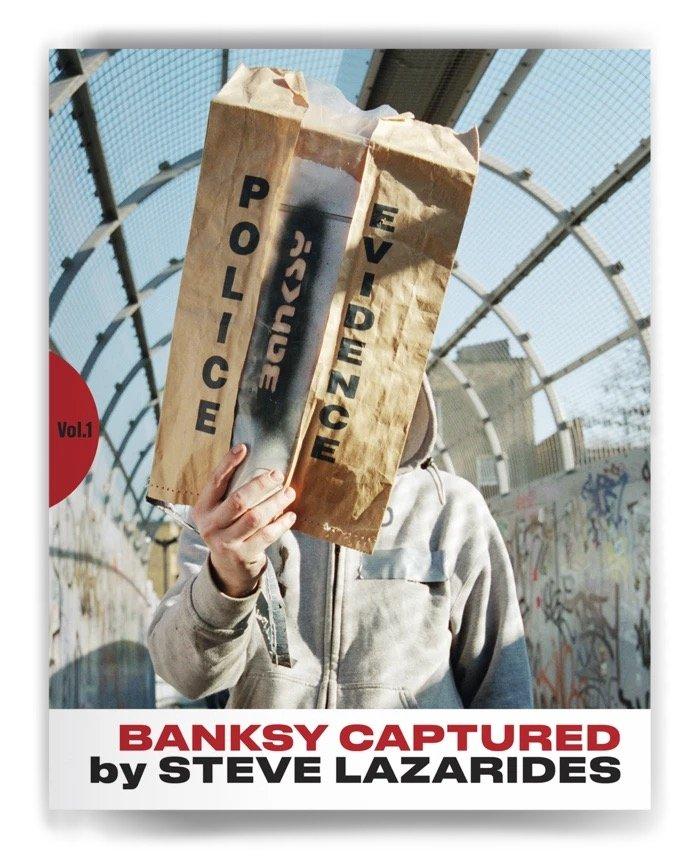 バンクシー本人写真や未発表作品を収録 『Banksy Captured』初版は即完
