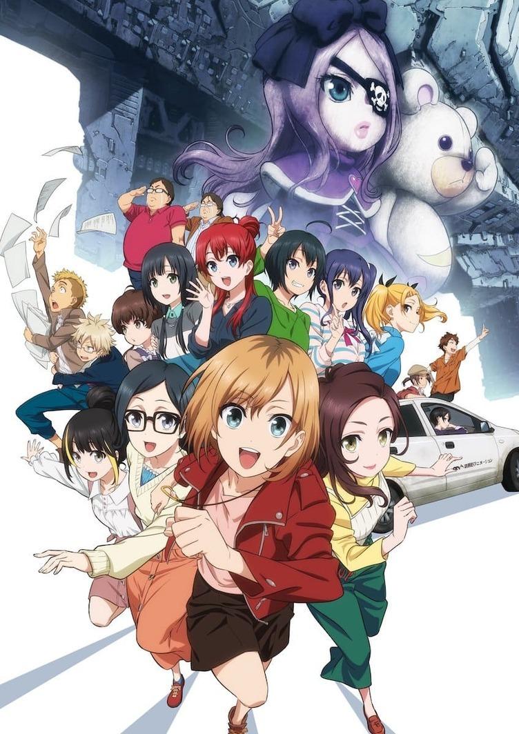 劇場版『SHIROBAKO』新ビジュアル&あらすじ 宮森たちは劇場アニメ制作へ