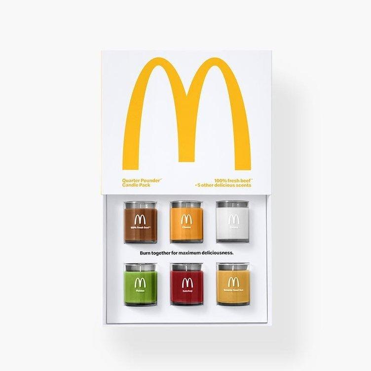 スンスン…これは?ハンバーガーの匂いだ! マクドナルドからバーガースメルなキャンドル