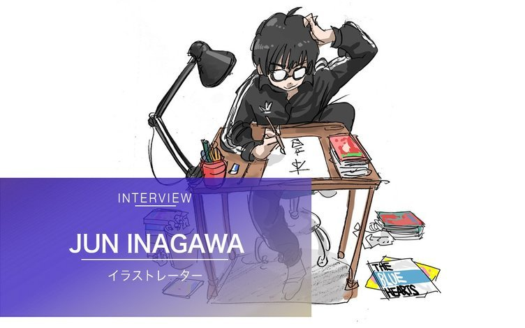 イラストレーターJUN INAGAWAインタビュー 「俺をハッシュタグにするのは違う」
