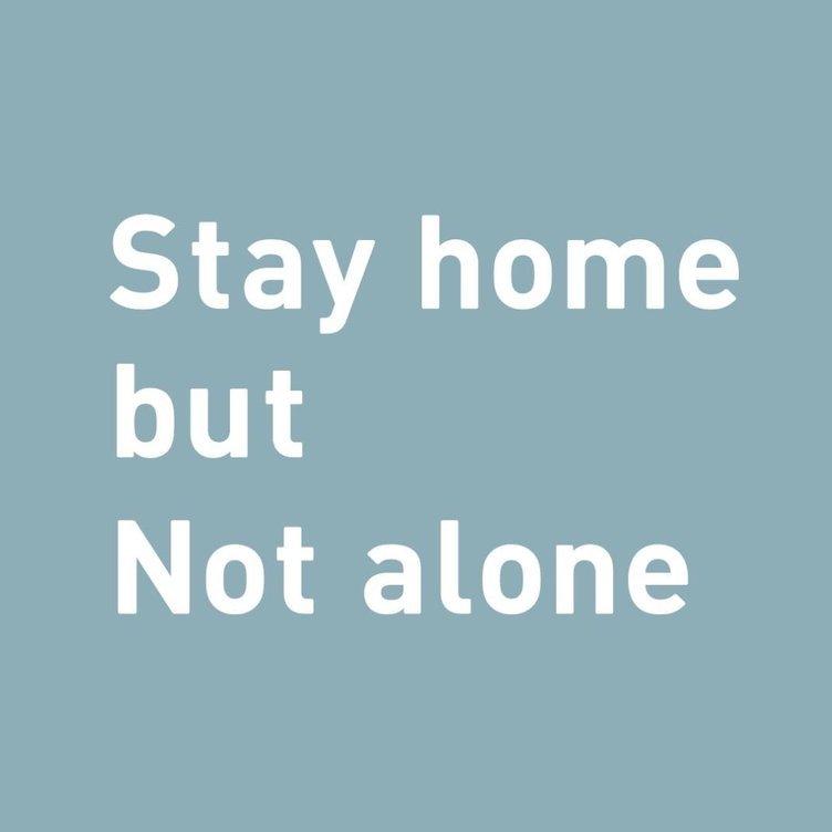 家に居ながらアーティストを応援「Stay home but Not alone」プロジェクト
