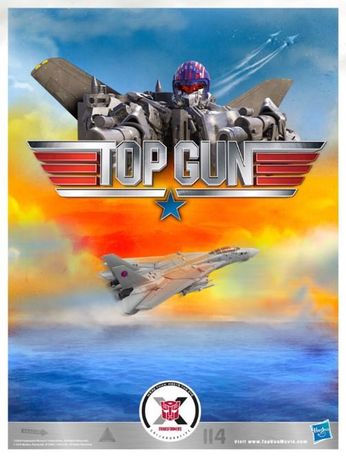 ハズブロがトランスフォームするF-14戦闘機「Maverick Robot」を発表 『トップガン』と『トランスフォーマー』のコラボ