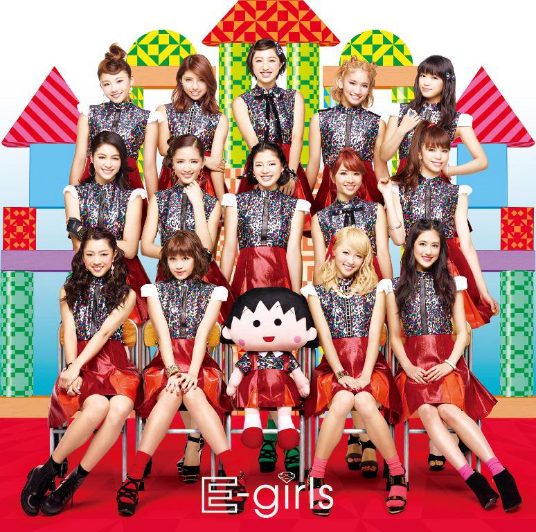 E-girlsに新メンバー加入!?ちびまる子ちゃんがE-girlsと完全コラボ