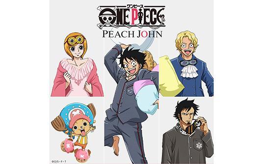 ONE PIECE×PEACH JOHNコラボの第二弾を発表! ルフィやローになりきれるルームウェアシリーズはメンズも展開!
