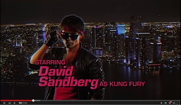 溢れる80年代愛! クレイジーSFカンフー映画『Kung Fury』無料公開