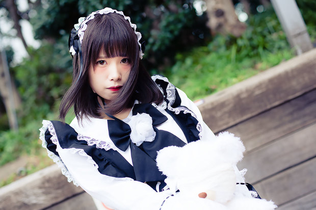 ゆいさん(オリジナル)Photo by Diora