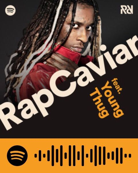 Spotifyコード 「Rap Caviar」