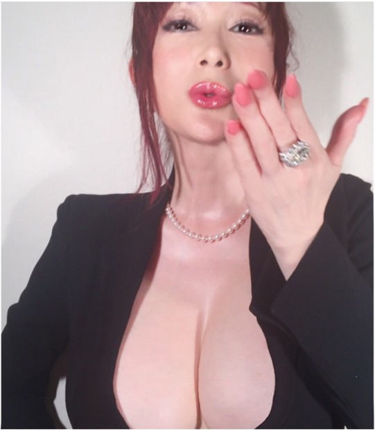 叶美香さん/画像は公式ブログより