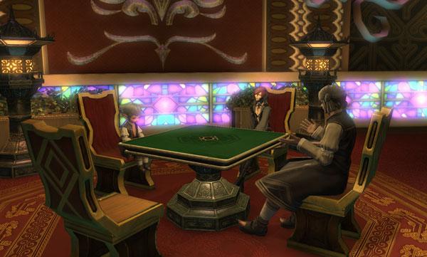 オンラインゲーム『FF14』に実装される麻雀がヤバそう エオルゼアに集え雀士!