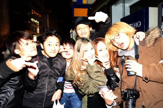 渋谷のユースたちと編集長と私