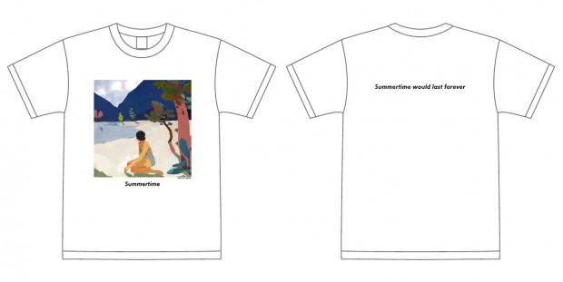 『Summertime』Tシャツ