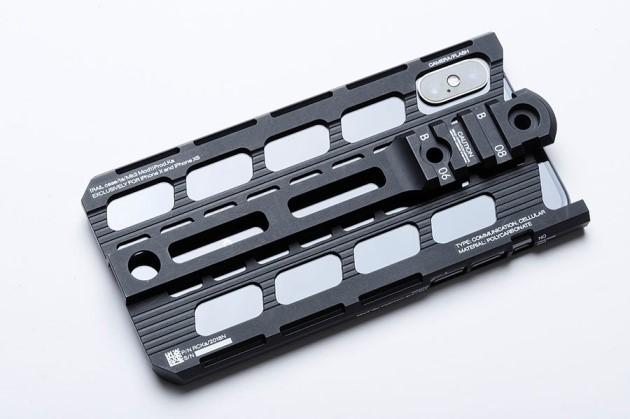メカデザイナー カトキハジメのiPhoneケースが本気 軍モノパーツも脱着可能