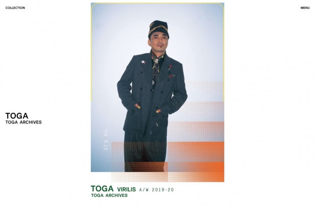 TOGA VIRILISを着こなす石野卓球さん