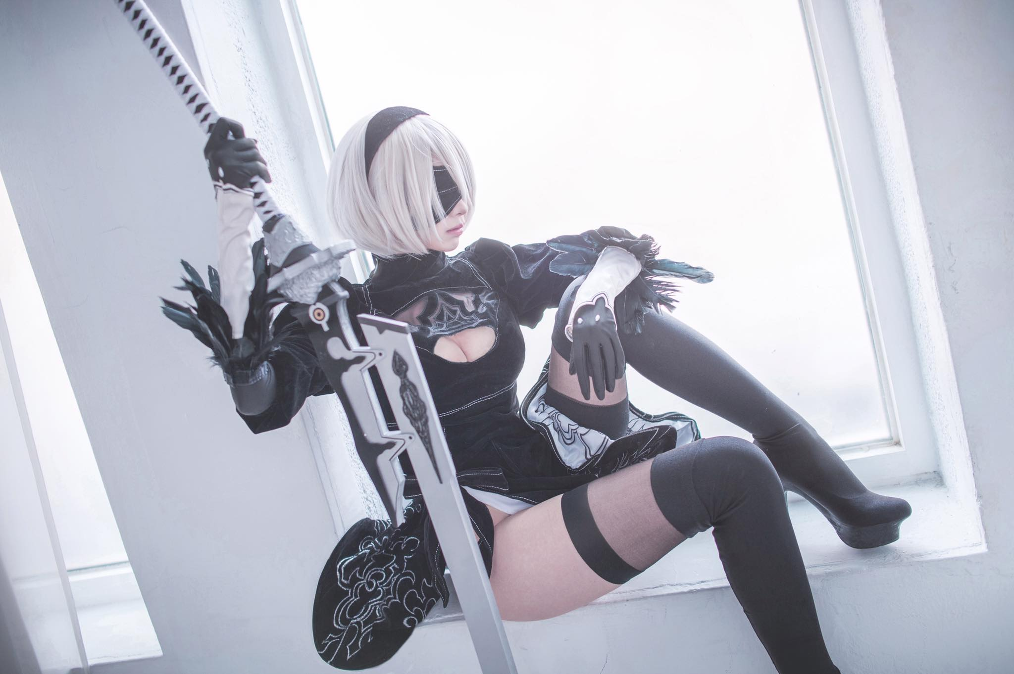 Mon as 2B from NieR:Automata | World Cosplayers: Mon From Taiwan | Cosplay Gallery |