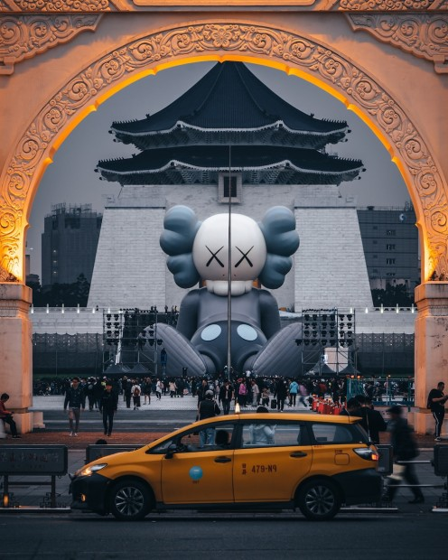 「KAWS:HOLIDAY」in台湾