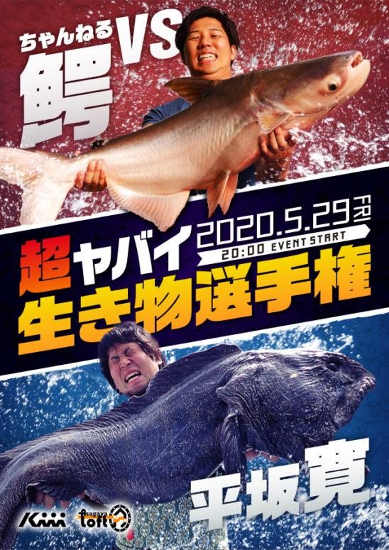 ちゃんねる鰐と平坂寛、ヤバイ生き物のエピソードで対決 生き物界の風雲児