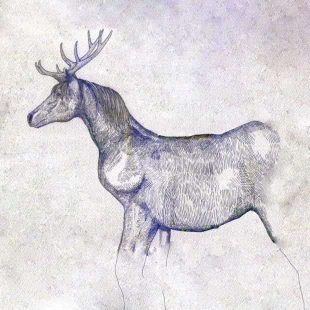 米津玄師「馬と鹿」ジャケット写真