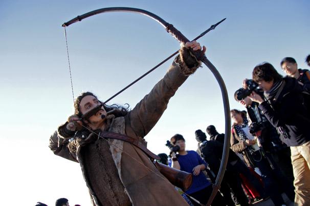 【C89】冬コミのコスプレイヤー jessamygriffinさん(『ホビット』弓の名手バルド)2