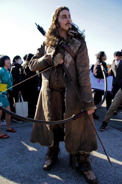 【C89】冬コミのコスプレイヤー jessamygriffinさん(『ホビット』弓の名手バルド)1