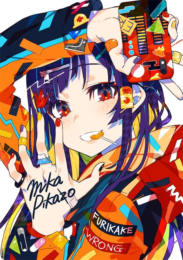 オリジナルイラスト (c)Mika Pikazo