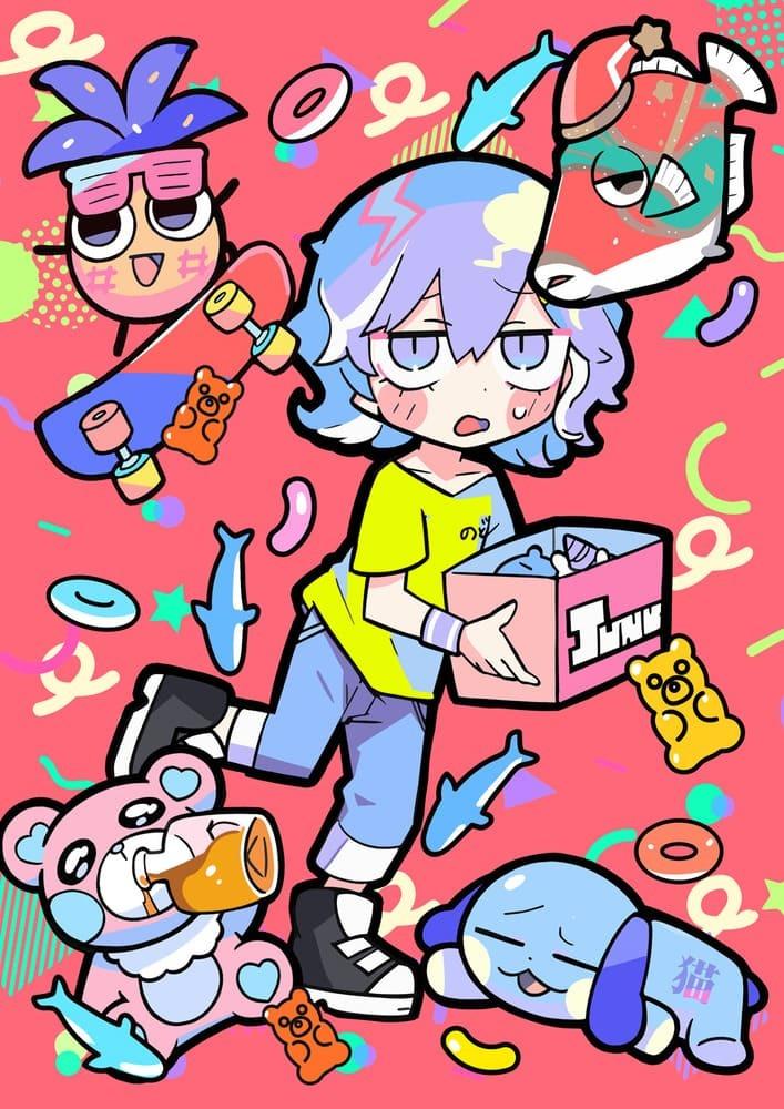 寺田てら×東宝『ジャンクモール』発表 ポップでちょっぴりダークな世界